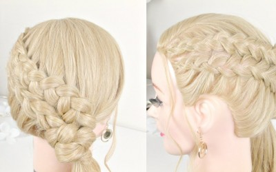 Braided-Wedding-Hairstyle-.Ponytail-With-Braids-For-Long-Hair