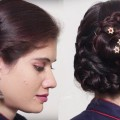 Bridal-Bun-Hairstyle-for-long-hair-2018-Quick-and-Easy-Hairstyle-tutorial-2018