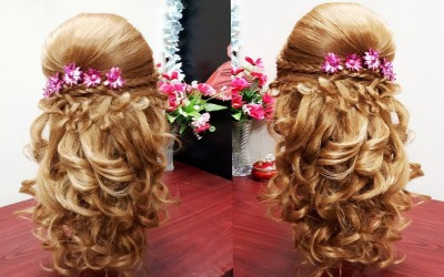 CURLY-PROM-HAIRDO-FOR-LONG-OR-MEDIUM-HAIR-PARTY-HAIRSTYLE-WITH-PUFF-FRENCH-BRAIDS