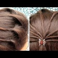 Easy-Everyday-Ponytail-Hairstyle-for-Long-Hair-2018-Hairstyle-video-tutorial-2018-1
