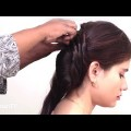 Easy-Twisted-Indian-Party-Bun-Hairstyle-for-medium-hairHairstyle-Tutorial-for-Reception