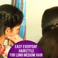 Easy-everyday-hairstyle-for-long-medium-hair-Latest-Hair-Style-2018