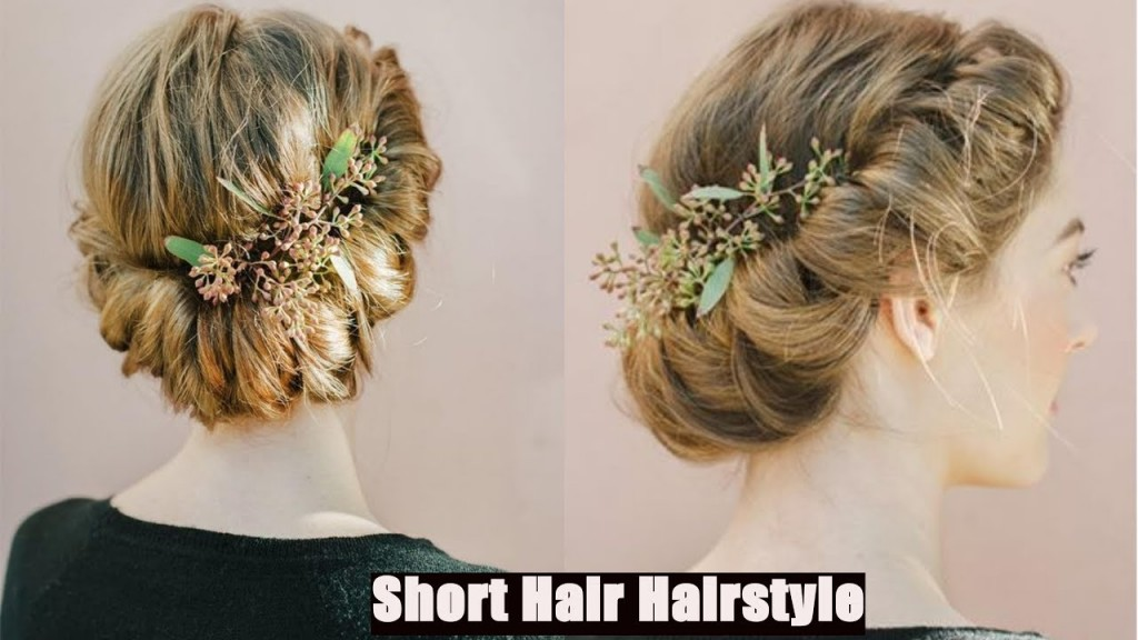 Easy Hairstyle Elegant Low Bun Hairstyle Ideas And Faux Braided