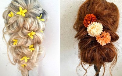 Fantasy-Brial-Hairstyles-Wedding-Hairstyles-Tutorials-Compilation-for-long-Hair