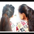 Hair-style-Girl-how-to-long-ponytail-with-puff-easy-hairstyle-new-ponytail-fancy-ponytails