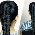 How-To-EASY-Fishtail-Braid-for-Long-Hair-Everyday-Fishtail-HairStyle-Hair-Styles-Fashions