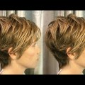 How-to-Quick-Short-layered-haircut-tutorial-for-women-Short-Haircut-Techniques