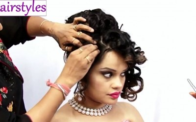 Indian-Bridal-Classic-Hairstyle-Wedding-Hairstyles-Black-Hairstyles-New-Hairstyle