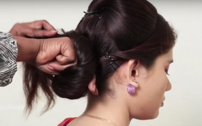 Latest-Hairstyle-for-long-hair-How-to-do-Hairstyle-for-medium-hair-Simple-hairstyle-tutorial