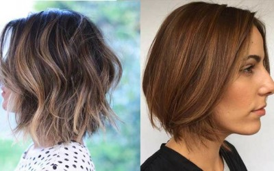Layered-Bob-Haircuts-for-Women-2018