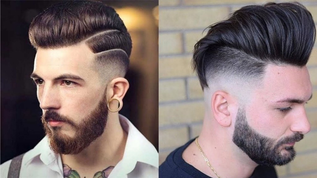 Mens New Haircut 2018 Skin Fade Pompadour Hairstyles 2018 Mens