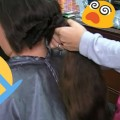 Oh-IMPOSSIBLE-HAIRCUT-Cut-Off-LONG-HAIR-To-SHORT-Extreme-Long-Hair-Cutting-40