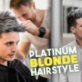 Platinum-Blonde-Hair-TRANSFORMATION-Mens-Hairstyle-Tutorial-BluMaan-2018