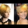 Shiny-Short-Haircuts-and-inspirations-for-Women-Hairstyles-Hair-Colors-2018