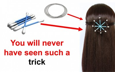 hairstyle-with-help-of-earbuds-hairstyle-cute-hairstyles-easy-hairstyles-new-hairstyle