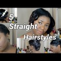 5-Hairstyles-For-Short-Natural-Or-Relaxed-Hair