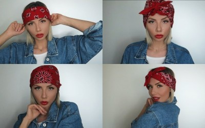 Bandana-Hairstyles-for-short-Hair-Bandana-Frisuren