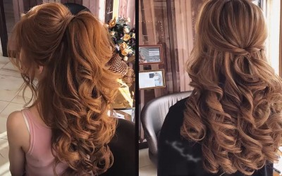Curly-Bridal-Hairstyles-For-Long-Hair-Tutorial-2018
