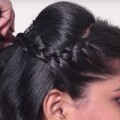 Different-Braided-Hairstyles-for-Medium-Long-Hair-Easy-hairstyle-For-PartyFunction
