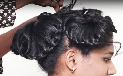 Different-hairstyles-for-short-hair-Beautiful-Hairstyle-for-wedding-party