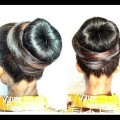 Donut-bun-hair-style-girl-Juda-hairstyle-for-long-hair-Hairstyles-bun-wedding-juda-bridal-Juda