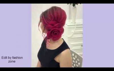 Flower-Bun-Hairstyle-for-Girls-Easy-Hairstyle-for-Long-Hair-Hairstyles-Tutorial