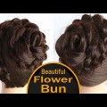 Flower-Bun-Hairstyle-for-Weddiing-and-Party-Wedding-Hairstyles-NEw-Hairstyle