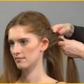 How-to-Do-a-Fishtail-Braid-Ponytail-Womens-Hairstyles-Videos