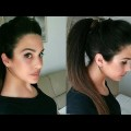 How-to-Messy-ponytail-with-Puff-hairstyle-Easy-hairstyle-for-mediumlong-hair