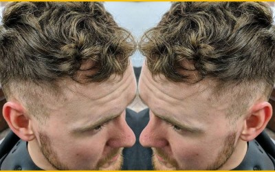 How-to-Wear-a-Short-Wavy-Mens-Hairstyle-Mens-Hairstyling-Videos