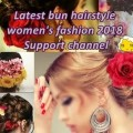 Latest-bun-hairstyle-for-womens-fashion-2018WOmens-part-3-Support-channel