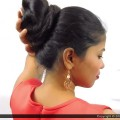 Long-Hair-Knot-Bun-Indian-Hair-Bun-Indian-Hair-Style-Hair-bun-Hair-Care-Style