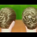 New-Bun-Hairstyle-for-Long-Hair-and-Medium-Hair-Summer-Hairstyles-for-Girls-Hairstyles