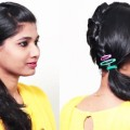 Ponytail-Hairstyle-tutorial-2018-How-to-do-Hairstyle-for-short-hair-Hairstyle-compilations