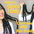 SUPER-LONG-THICK-CORNROWS-BOX-BRAIDS-TUTORIAL-VACATION-HAIRSTYLE-FOR-NATURAL-HAIR-Lana-Summer