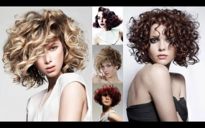 Short-Curly-Bob-Hairstyles-Wavy-Short-Haircuts-for-Modern-Women-in-2019