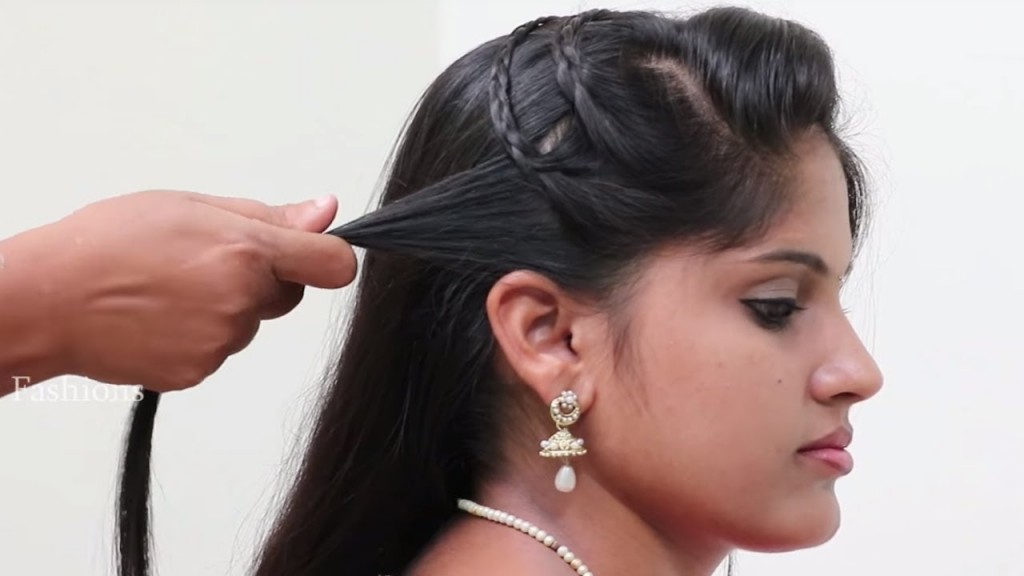 Simple And Quick Hairstyle For Long Hair Hairstyle For Wedding