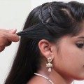 Simple-and-Quick-hairstyle-for-Long-Hair-Hairstyle-for-WeddingpartyFunction-Hair-style-girl