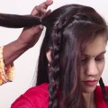 Simple-hairstyle-for-long-hair-Quick-and-Easy-hairstyle-Videos-Hairstyles-for-Ladies-2018