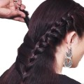 Single-Layer-Braided-Hairstyle-for-long-hair-hairstyle-tutorials-hairstyle-compilations