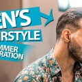 Summer-hair-inspiration-Mid-length-slick-back-haircut-Mens-Hair-Inspiration-NEW-2018