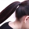 Trendy-Ponytail-hairstyle-for-Long-Hair-EASY-HAIRSTYLE-for-PARTYWEDDING-Bun-Hairstyles
