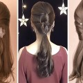 10-Easy-Hairstyles-For-Long-Hair-And-Bridal-Hairstyles-Tutorial