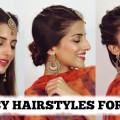 2-MIN-EASY-EID-Hairstyles-For-Girls-2018-Eid-Special-Hairstyle-For-Medium-To-Long-Hair-1