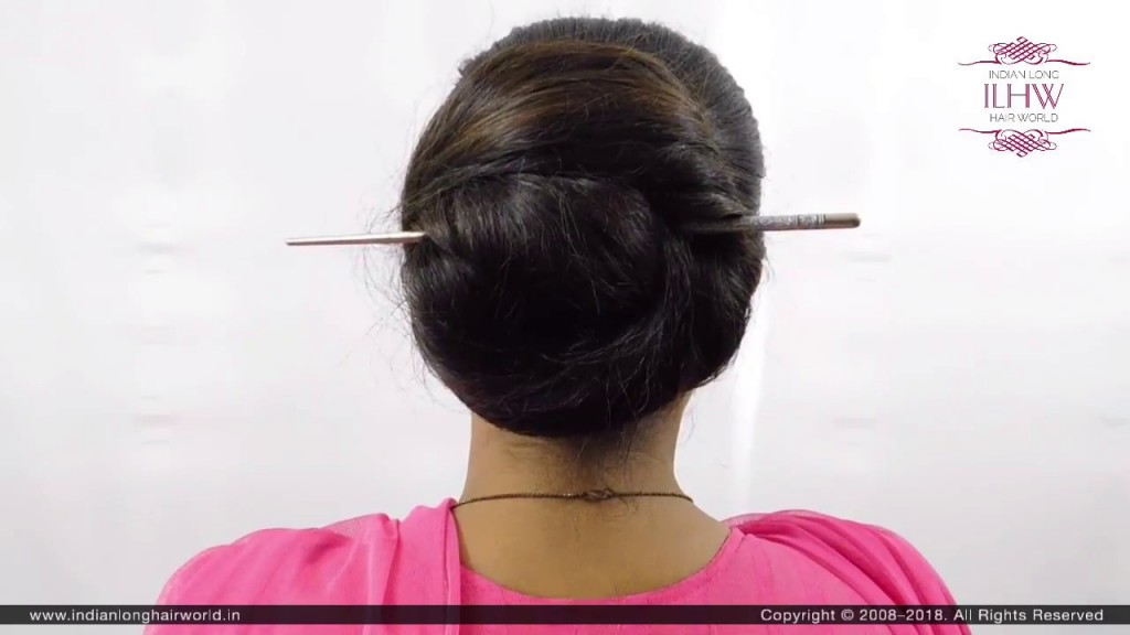 2 Minute Elegant Bun Hairstyle Easy Updo Hairstyles Wow To Use