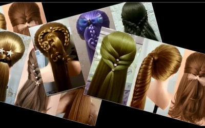 20-Very-Easy-and-Cool-Hairstyles-for-Girl-Chignon-Hairstyle-For-Long-HairHigh-BunPeinadosvungtau