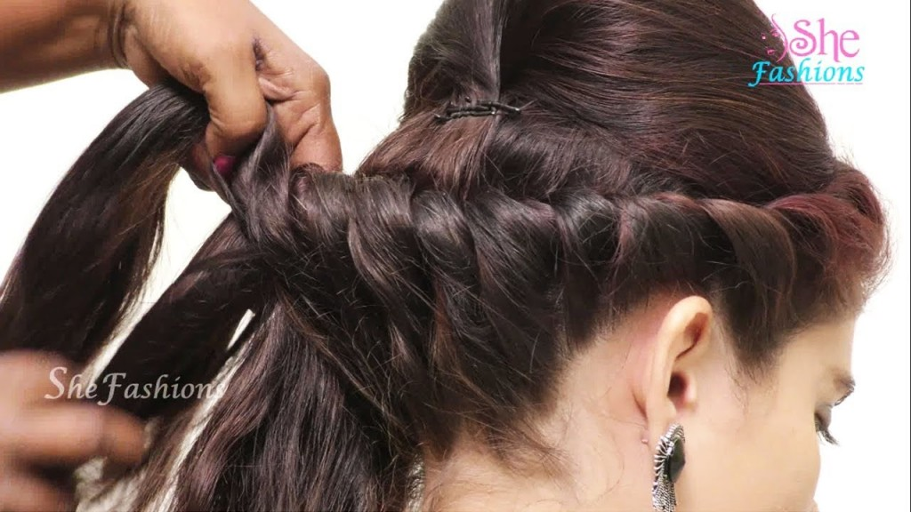 5 Diy Ponytail Hairstyle For Long Hair Diy Easy Hairstyle For