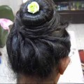 A-Twisted-Bun-hairstyle-for-Medium-and-long-medium-hair.