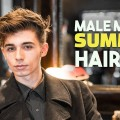 BEST-Male-Model-Summer-Haircut-Hairstyle-Mens-Hair-BluMaan-2018