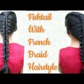 Beautiful-Hairstyle-For-long-hairFishtail-with-french-braid-hairstyleHairstyle-for-party